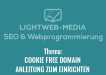 cookie free domain einrichten