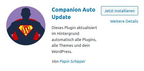 Companion Auto Update