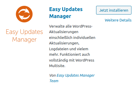 Easy Update Manager