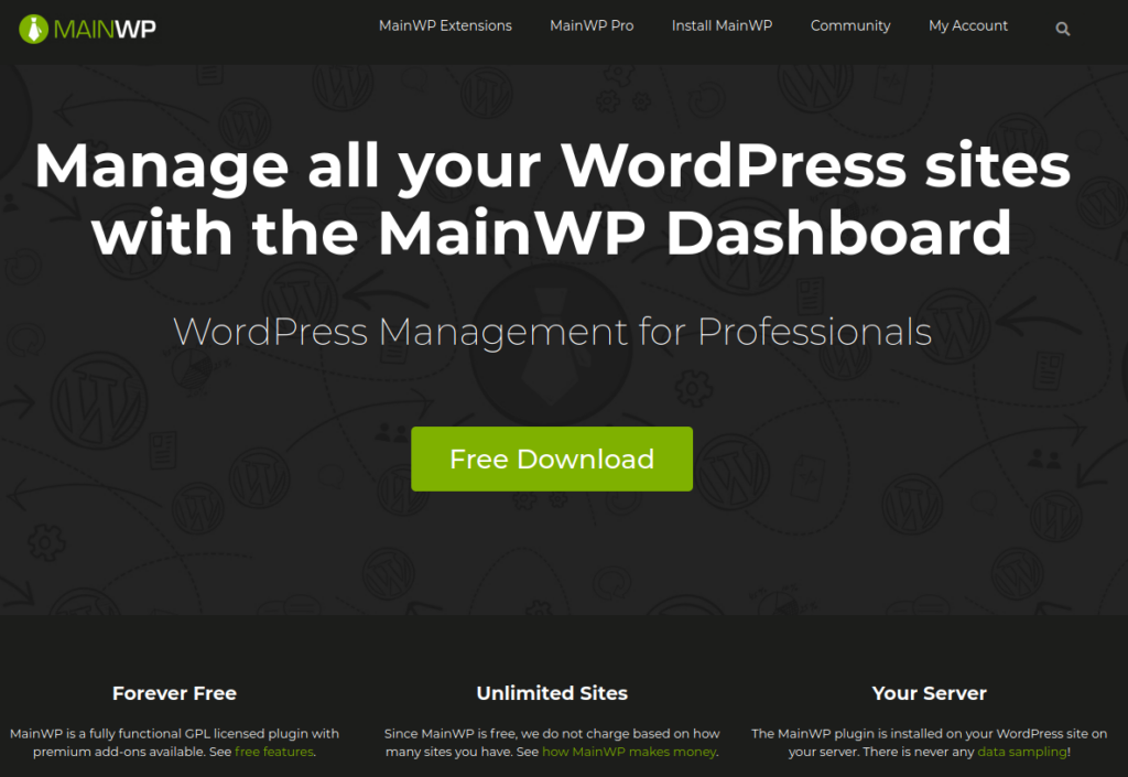 MainWP Website